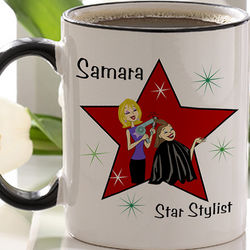 Hair Stylist Personalized Coffee Mug