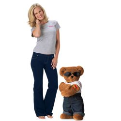 Mama's Boy Teddy Bear and Large PajamaJeans Gift Set