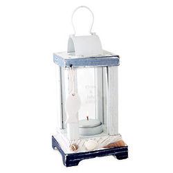 Personalized Seashell Wood Lantern