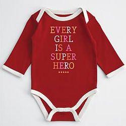 Baby's Every Girl is a Superhero Bodysuit