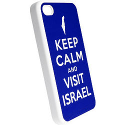 Keep Calm And Visit Israel Cell Phone Case