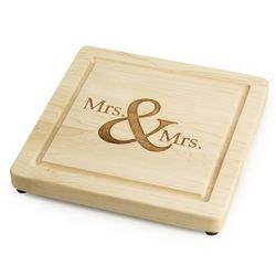Mrs. & Mrs. Maple Cutting Board