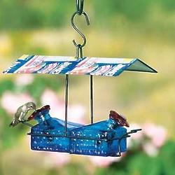Sugar Shack 2 Perch Hummingbird Feeder
