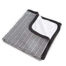 Black & White Stroller Blanket