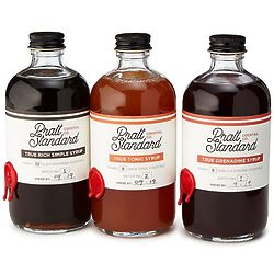 Pre-Prohibition Cocktail Syrups