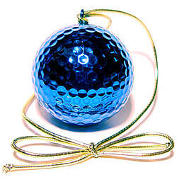 Holiday Golf Ball Ornament
