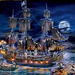Pirates of the caribbean ghost ship