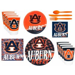 Auburn Tigers Party Supplies Pack