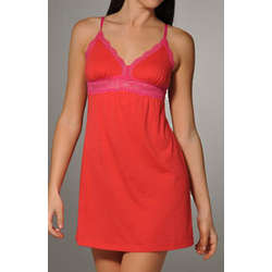 Ever 2-Tone Red and Pink Babydoll