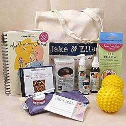 Mama to Be Deluxe Comfort Gift Basket