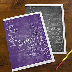Hidden Name Personalized Kid's Folders