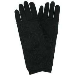 Lace Covered Fashion Glove