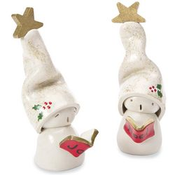 Christmas Mantle OMs Figurines