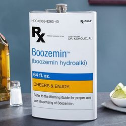 The Right Medicine Giant Boozemin Flask