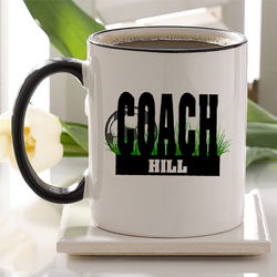 Soccer Coach Personalized Coffee Mug