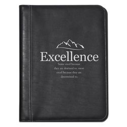 Excellence Mountain Leather Padfolio