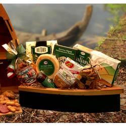 Gone Fishing Wooden Boat Gift Set