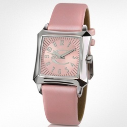 Blade Pink Logo Dial Watch