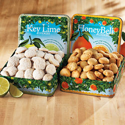Key Lime and HoneyBell Cookie Combo Tins