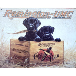 Remington Finders Keepers Metal Sign