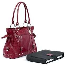 Catalina Leather Computer Handbag