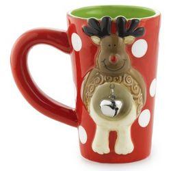 Reindeer Jingle Latte Mug