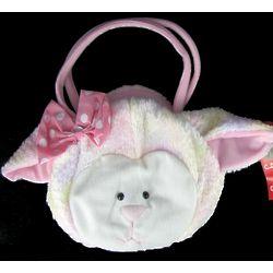 Little Girl's Plush Lamb Handbag
