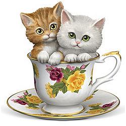 A Teaspoon of Daydreams Kitten Figurine