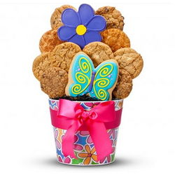 Mother's Day Ribboned Cookie Bouquet