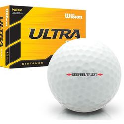 Ultra 500 Distance Linear See Feel Trust Logo Golf Balls