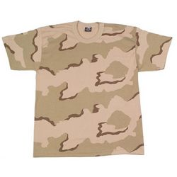 3 Color Desert Camo T-Shirt