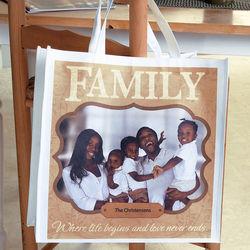 Family Custom Photo Tote