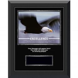 Excellence Eagle Individual Award Engraved Gunmetal Plaque