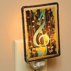 Treble Clef Night Light