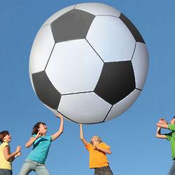 Gigantic 6 Foot Tall Soccer Ball