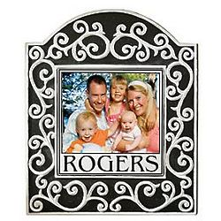 Custom Color Photo Scroll Tile Plaque