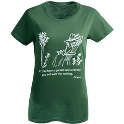 Garden and Library T-Shirt