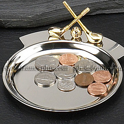 Golfer's Change Tray