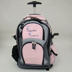 Personalized Trendy Wheeled Backpack