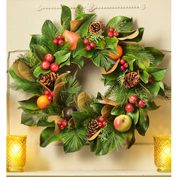 Bountiful Holiday Wreath