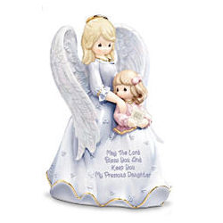 Precious Moments My Blessed Daughter Porcelain Figurine
