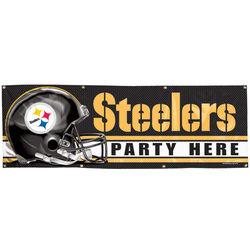Pittsburgh Steelers Vinyl Banner