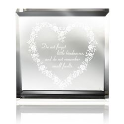 A Little Kindness Lucite Paperweight