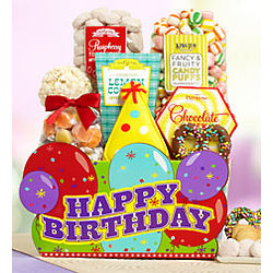 Wonderful Wishes Birthday Treat Basket
