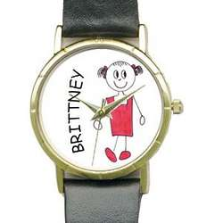 Personalized Quartz Watch with Family Characters