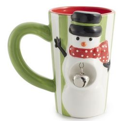 Snowman Jingle Latte Mug