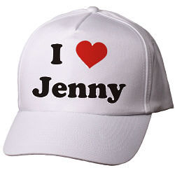 I Love You Personalized Valentine's Day Hat