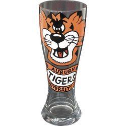 Auburn University Tigers Handpainted Pilsner Glasses