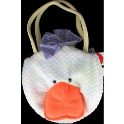 Little Girl's Plush Duck Handbag