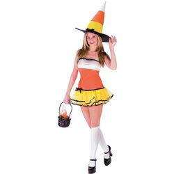 Women's Candy Corn Treat Costume